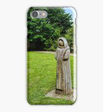 Cistercian Monk Sculpture iPhone Case/Skin