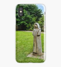 Cistercian Monk Sculpture iPhone Case