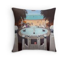 Stairway to Eastern beach, Geelong. Throw Pillow