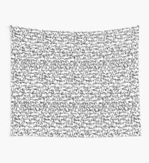 Graphic Scribble Wall Tapestry