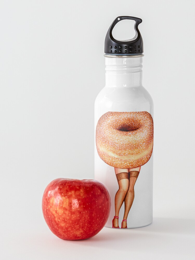 Alternate view of Donut Pin-Up Water Bottle