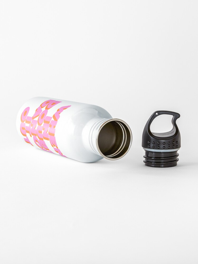 Alternate view of When in doubt dance it out! typography artwork Water Bottle