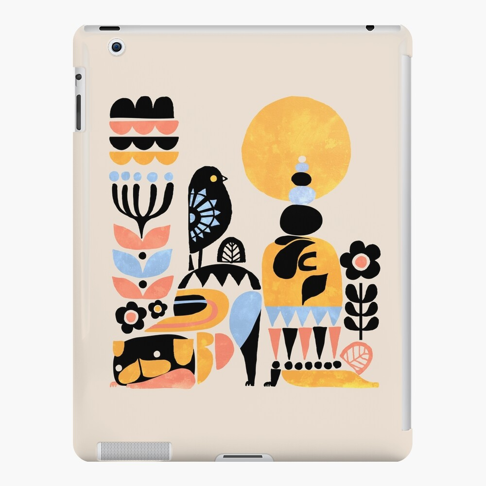 Scandinavian Pug Yoga iPad Case & Skin