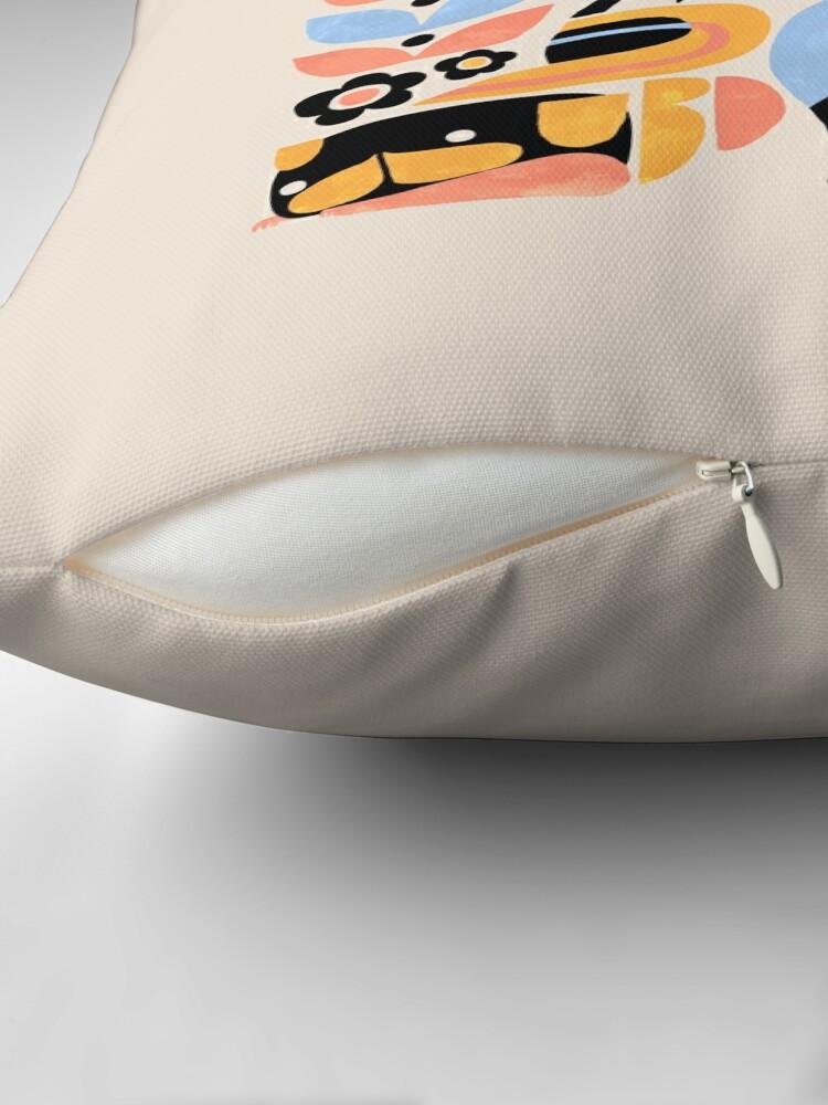 Alternate view of Scandinavian Pug Yoga Floor Pillow