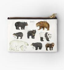 Bears Zipper Pouch