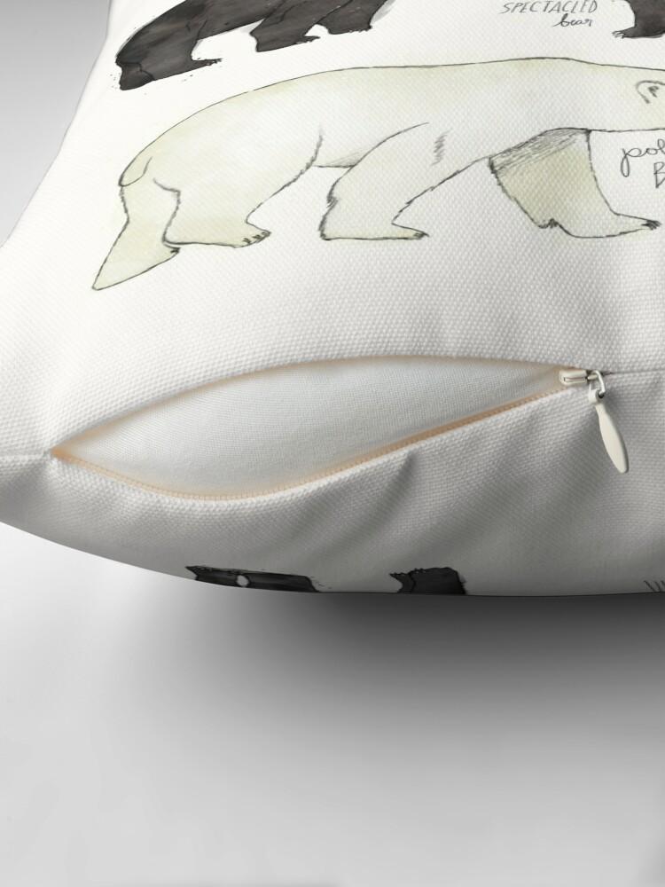 Alternate view of Bears Throw Pillow