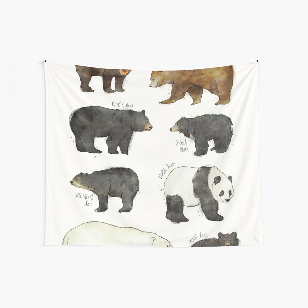 Bären Wandbehang