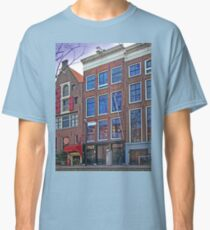 Anne Frank Home In Amsterdam Classic T-Shirt