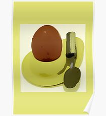 Egg & Spoon Poster