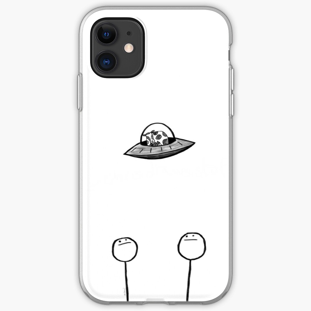 Did You See That? iPhone Soft Case