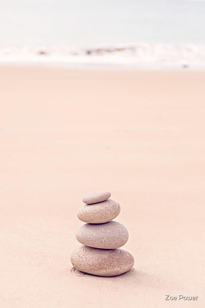 Pebble stack zen by Zoe Power