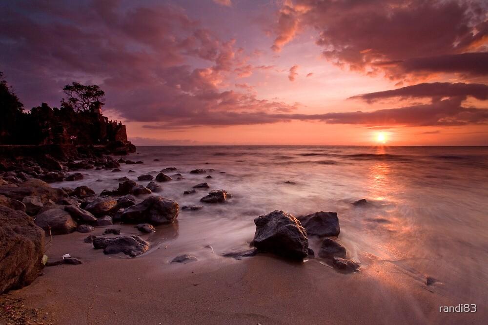 Sunset @ Batu Bolong by randi83