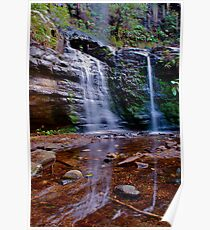 Fairy Bower falls. Poster
