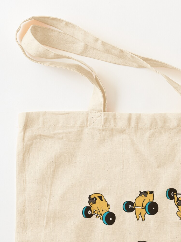 Alternate view of OLYMPIC LIFTING PUGS Tote Bag