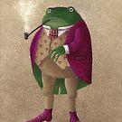Herr Frosch by HanaStupica