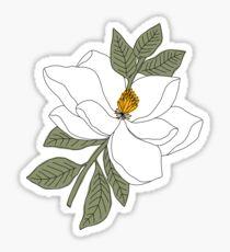 Magnolia Flower Sticker