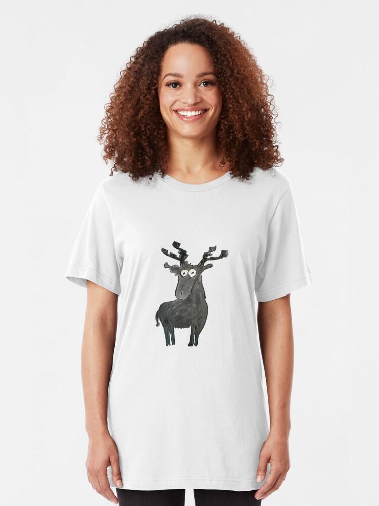Alternate view of Moose Slim Fit T-Shirt