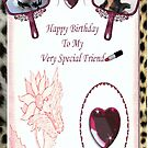 Fashionable Special Friend - Birthday Card by judygal