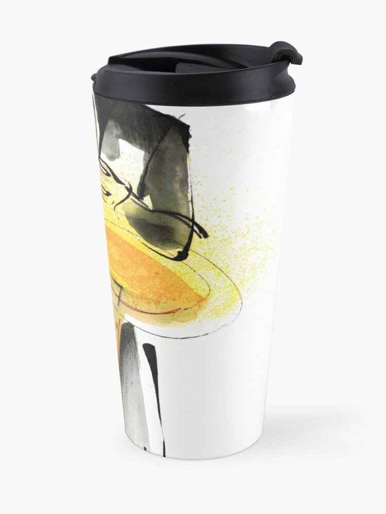 Alternate view of Saxophonist Musician Drawing Travel Mug