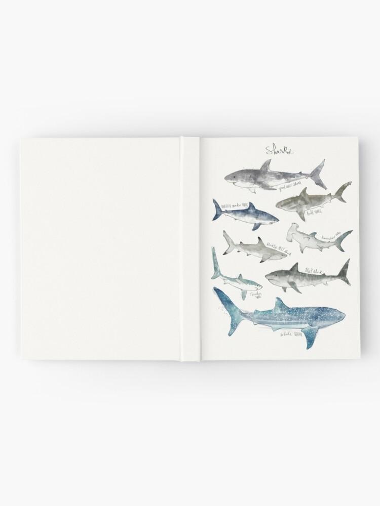 Alternate view of Sharks Hardcover Journal