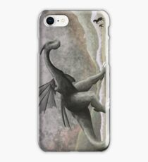 Hunting a troublesome dragon. (vertical) iPhone Case/Skin