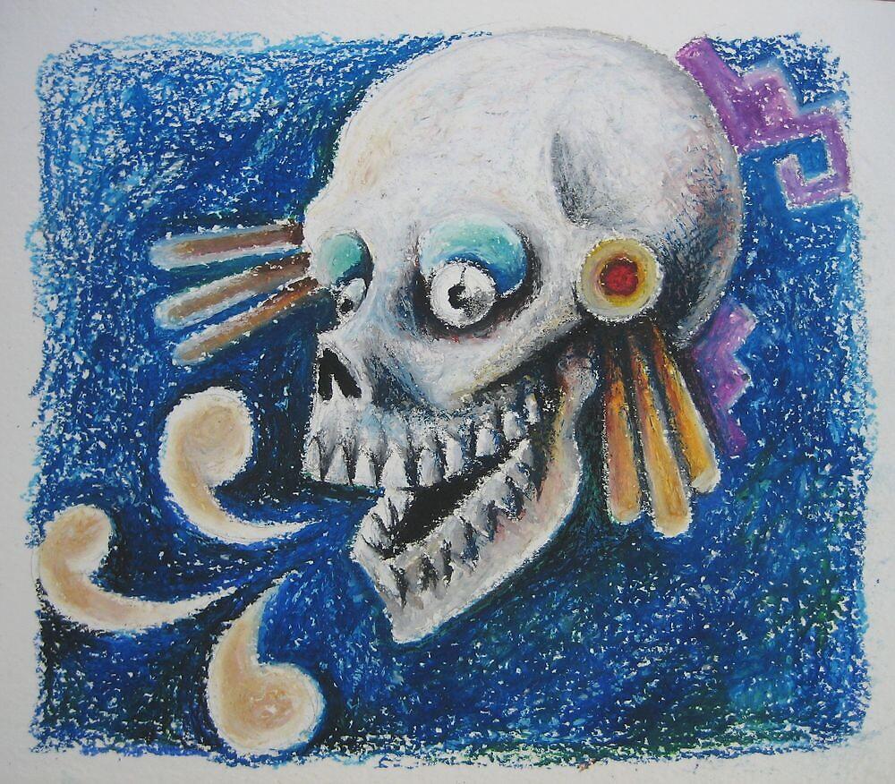 Muerte recitando by freger