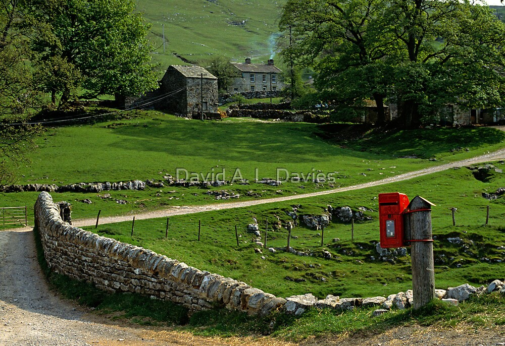 Yorkshire Dales, England. by David A. L. Davies