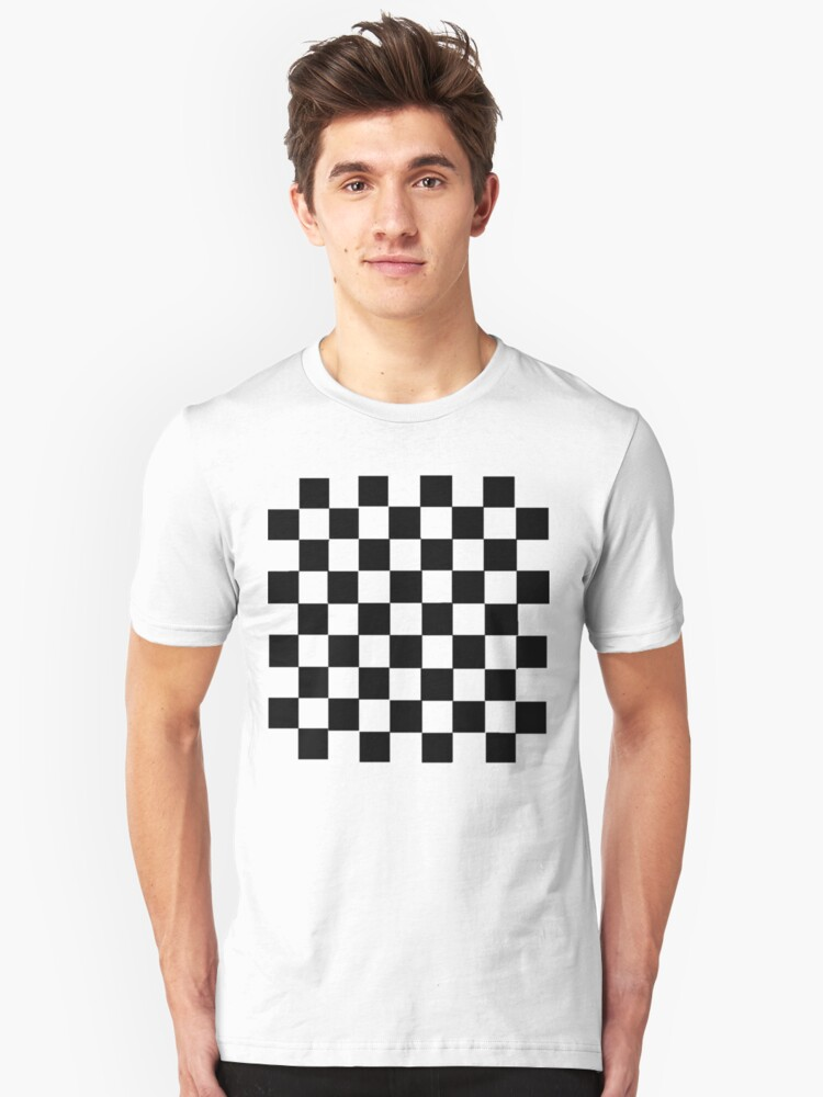 Alternate view of Check it Out. Slim Fit T-Shirt