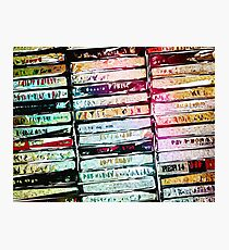 Abstract Cassettes Graphic Photographic Print