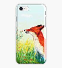 Zorro rojo  iPhone Case/Skin