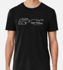 Mk-5T Super Realistic Autocross Outline Premium T-Shirt