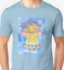 Christmas Angel with Star Unisex T-Shirt