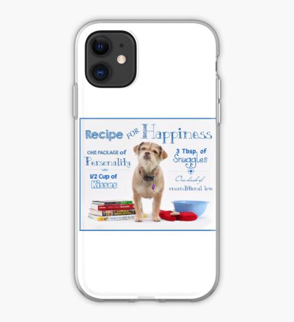 Recipe for Happiness iPhone Case