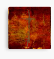 Autumn Splash Oil Painting Canvas Print