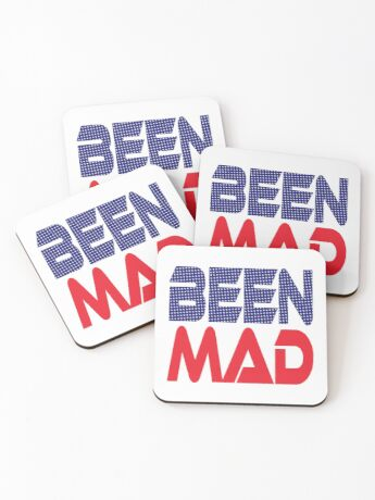 #OurPatriotism: Been Mad (Red, White, Blue) by Onjena Yo Coasters