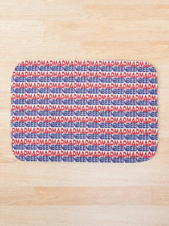 #OurPatriotism: Been Mad (Red, White, Blue) by Onjena Yo Bath Mat