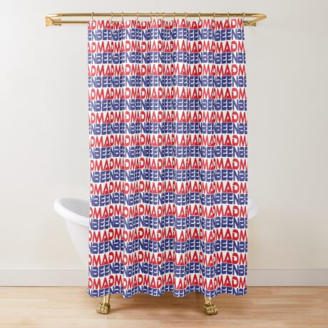 #OurPatriotism: Been Mad (Red, White, Blue) by Onjena Yo Shower Curtain