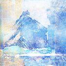 Blue Ice Mountains by Jenny Lloyd