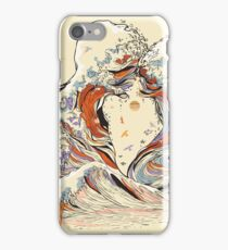 The Great Wave of Love iPhone Case/Skin