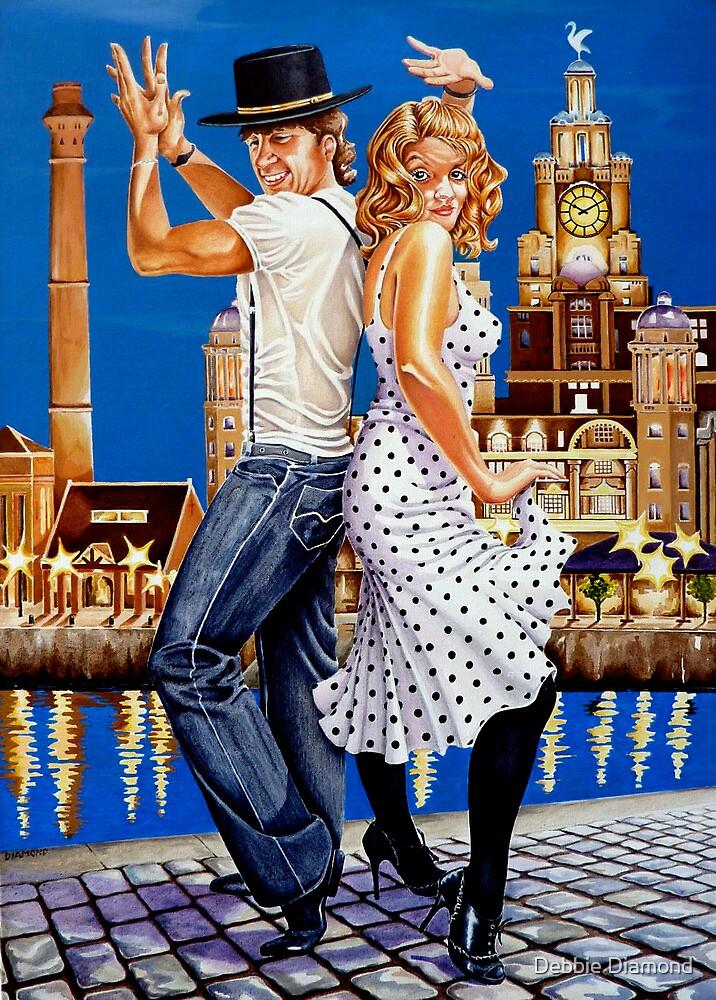 "Dancin"" at the Dock by Debbie Diamond"
