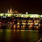 Charles Bridge - Prague by skphotography