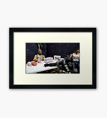 Intergalactic Snack Framed Print