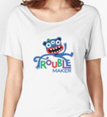 Trouble Maker III - on lights Women's Relaxed Fit T-Shirt
