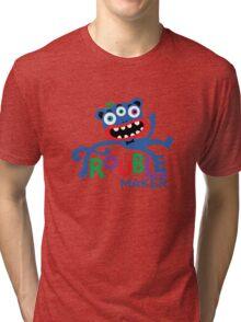 Trouble Maker III - on lights Tri-blend T-Shirt