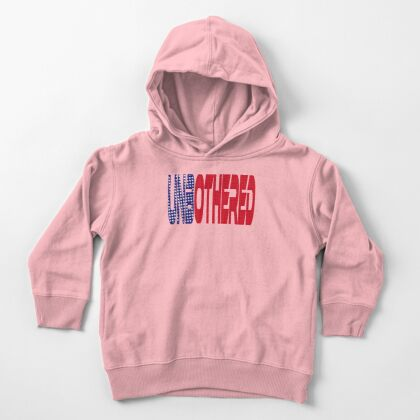 #OurPatriotism: UnbOthered (Red, White, Blue) by Onjena Yo Toddler Pullover Hoodie