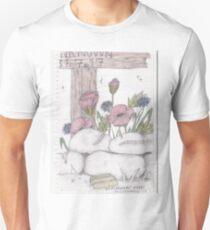 Rememrance WW1 Poppies Unisex T-Shirt