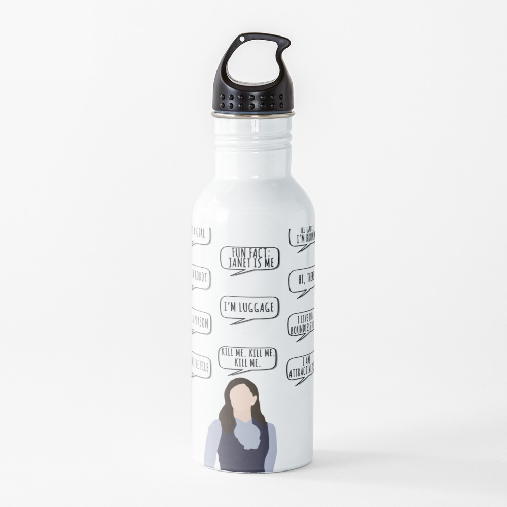 janet quotes Water Bottle