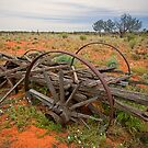 The Old Wagon by Richard  Windeyer
