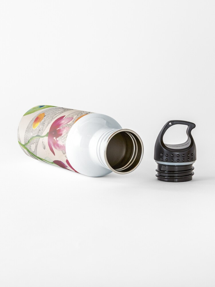 Alternate view of botanical composition Water Bottle