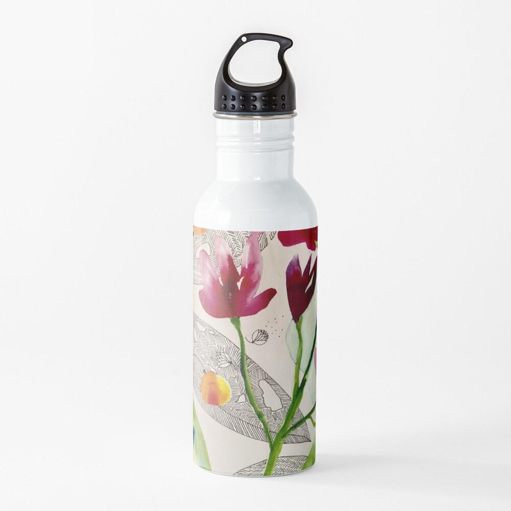 botanical composition Water Bottle
